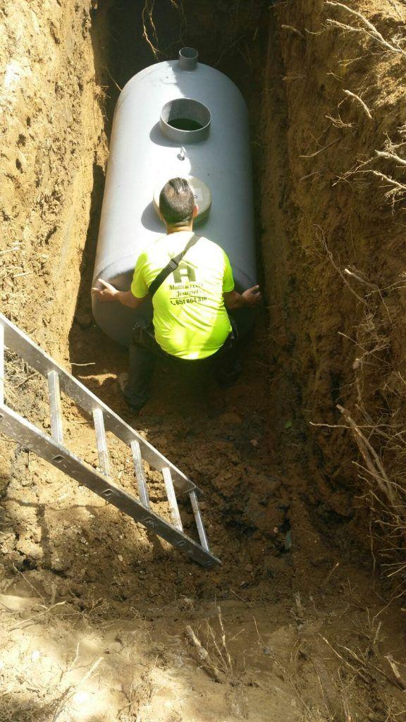 Empresa de escavación de fosas