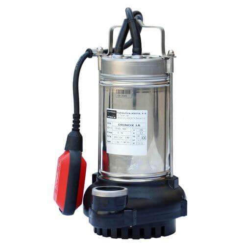DRINOX Bomba de agua sumergible para evacuación pluvial, sucias ó filtradas, en garajes, piscinas, sótanos