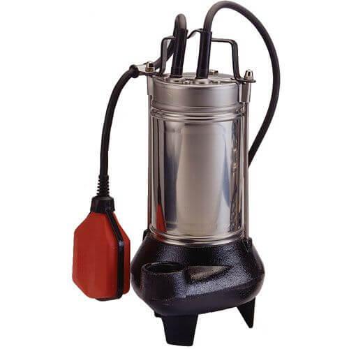 INOXPALM Bomba de agua sumergible residual, pluviales e industriales con sólidos en suspensión