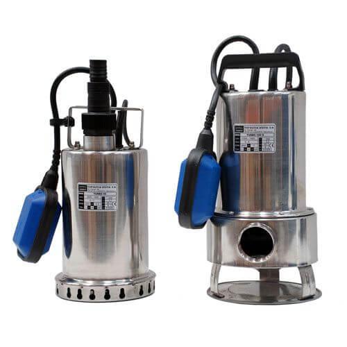 Electrobombas sumergibles para achique y aguas cargadas.
