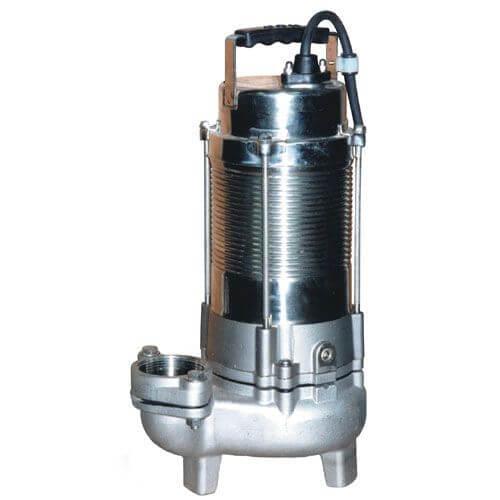 Electrobombas sumergibles para aguas residuales.