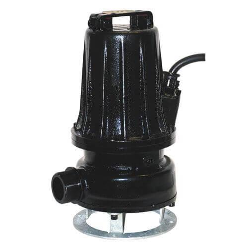 AT Bomba hidráulica para aguas limpias, pluviales, mixtas, residuales con contenidos sólidos, fibrosos y fangosas
